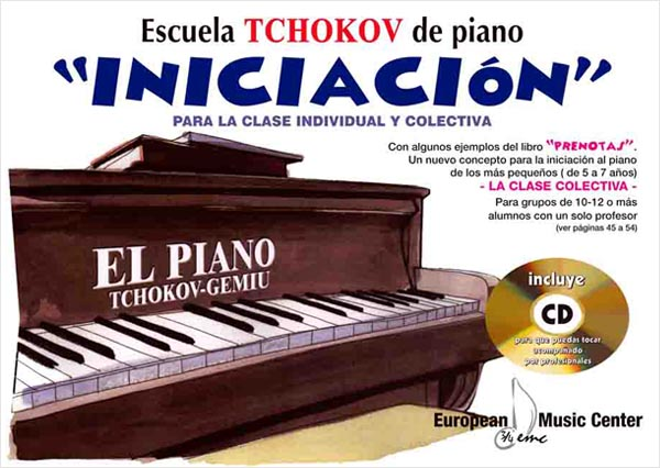 Iniciación Escuela Tchokov Piano European Music Center