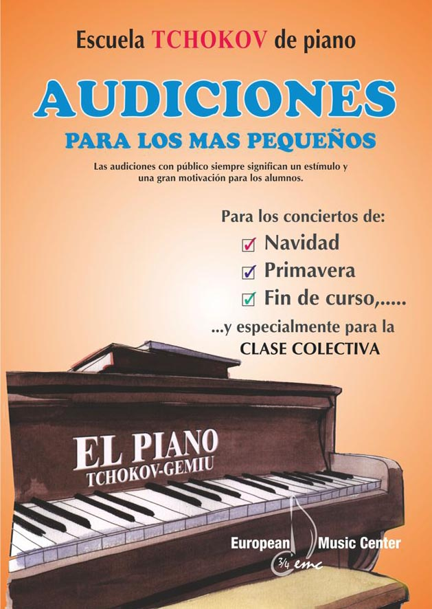 Audiciones Escuela Tchokov Piano European Music Center