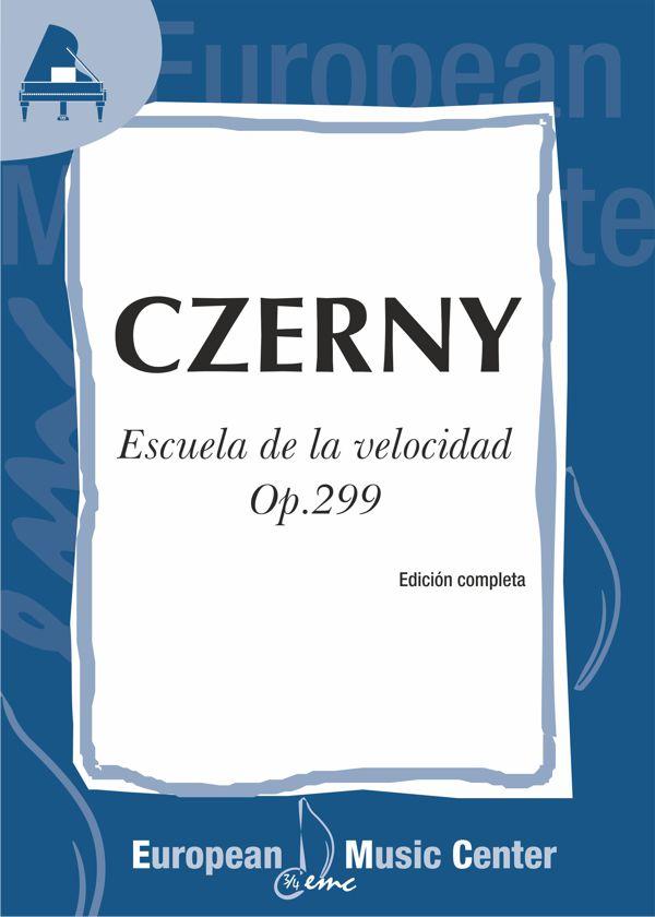 portada-czerny-escuela-velocidad-op-299-repertorio-piano-european-music-center