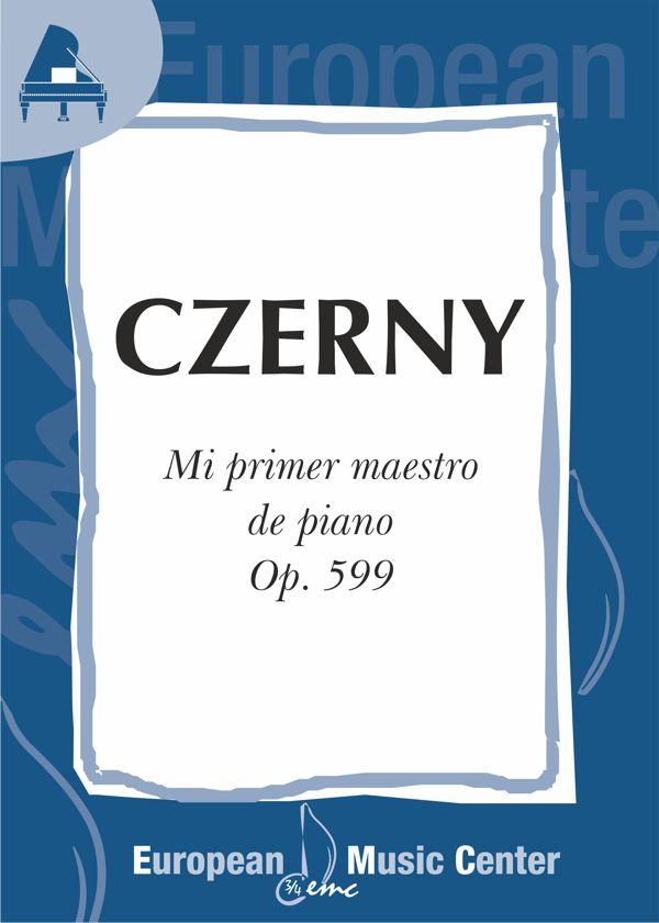 portada-czerny-primer-maestro-piano-op-599-repertorio-piano-european-music-center