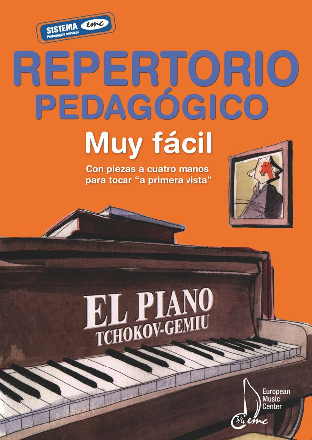 Repertorio pedagógico Escuela Tchokov Piano European Music Center