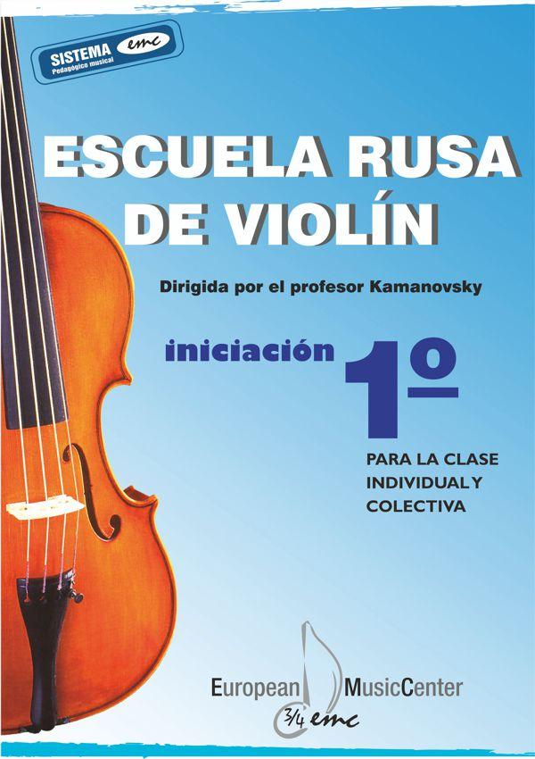 Escuela rusa de Iniciación 1 violín European Music Center