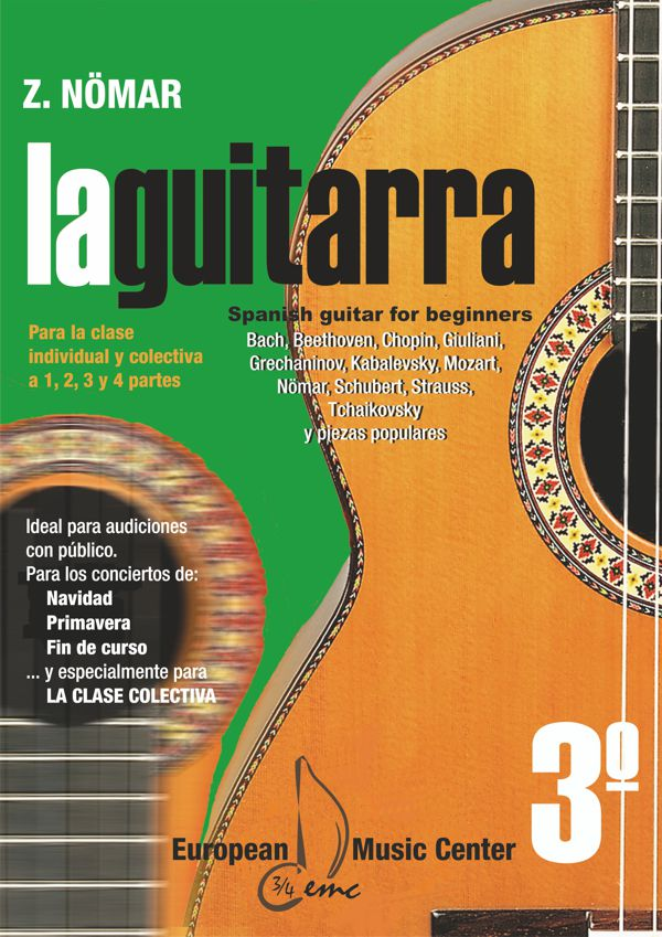 La guitarra 1ºA Iniciación European Music Center